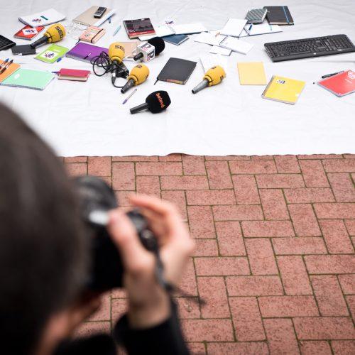 Ètica i fotoperiodisme taller de narratives ètiques - Fotografia de Claudia Frontino